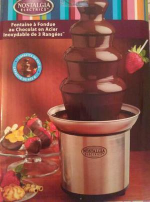 Fuente De Chocolate De Tres Niveles