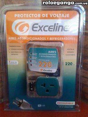 Protector Voltaje Exceline 110v Aire Acondicionado