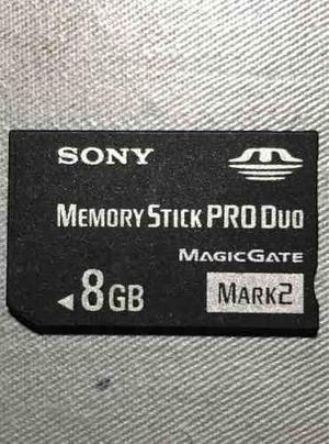 Memoria Original Sony Memory Stick Pro Duo 8 Gb