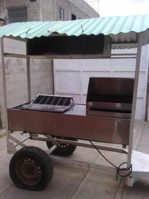 vendo carro de perros calientes y hamburguesas tipo trailer
