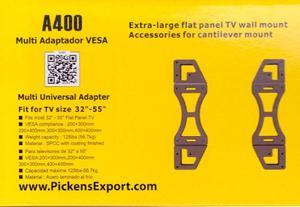 Adaptador Para Base Tv Pickens A400 Lcd,led,plasma 32 A 55
