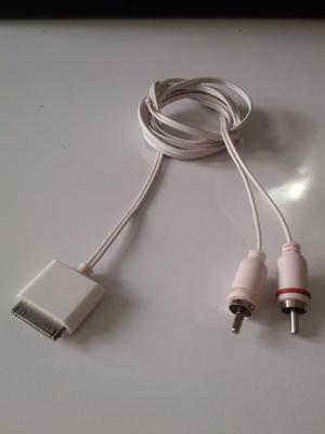 Cable De Interfaces Rca Stereo Para Iphone, Ipod, Etc.