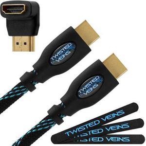 Cable Hdmi Twisted Veins Full Hd p 4k 3d De 3 Metros