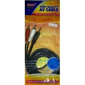 Cables Audio Plug Jack 3.5mm Macho A 2 Rca