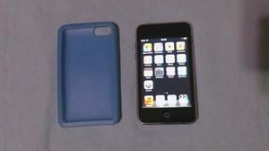 Ipod Touch 4ta Generación 8 Gb Con Protector De Gel Azul