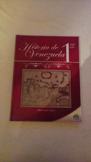 Historia de Venezuela 1er año