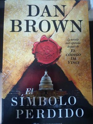 Libro El Símbolo Perdido de Dan Brown