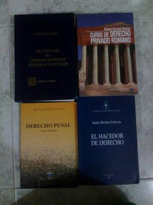 Libros Derecho, Administracion, Varios.