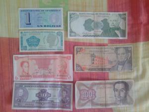 Lote de Billetes para Coleccion
