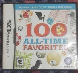 100 Juegos De Mesa Juego Para Nintendo Ds Original Usado