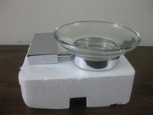 Accesorios De Baño En Acero Cromado. Jabonera Toallera