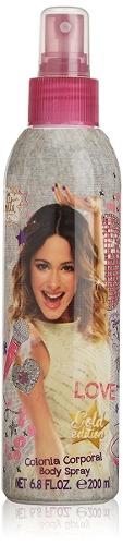 Colonia Para Niña Disney Violetta 200ml Perfume Original