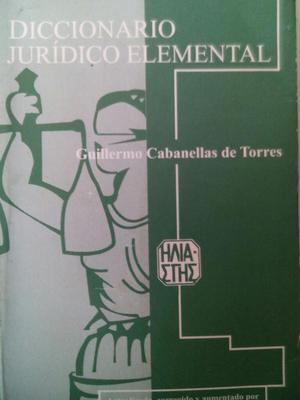 Diccionario Juridico Elemental