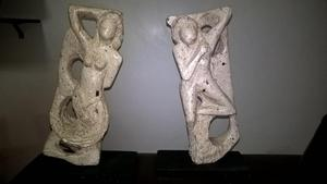 Esculturas de materiales reciclables