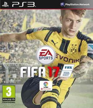 Fifa 17 Ps3 Juego Digital. Atencion Inmediata. Fifa17 Play 3