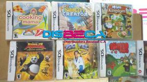 Juegos Nintendo Ds Lite (solo Nintendo Ds Lite)
