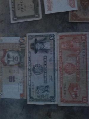 Tengo Varios Billetes de Peru Cuba Brazi