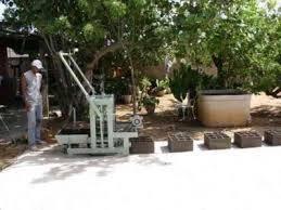 maquina ponedora de bloques de cemento