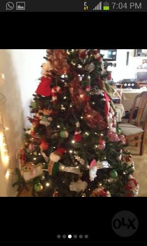 Arbol De Navidad Mas Adornos Navideños Varios