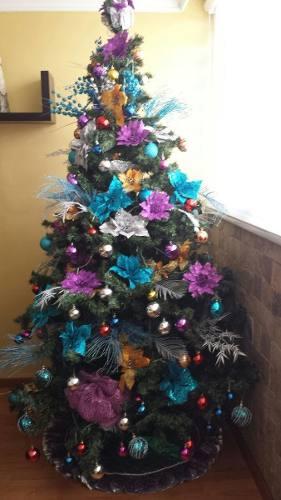 Arbolito De Navidad 1.80 Metros Con Full Accesorios
