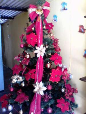 Bello Arbolito De Navidad 2 Metros Como Nuevo