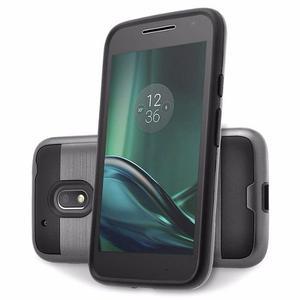 Combo Forro Verus Moto G4 G4 Plus G4 Play + Vidrio Templado