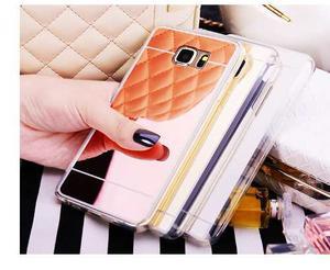 Forro Tpu Espejo Lujo Samsung Note 3 Note 4 Note 5
