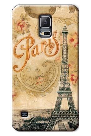 Forros Samsung Galaxy S3 S4 S5 S6 S7 Vintage Eiffel, Paris