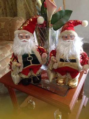 Hermosos Muñecos De Navidad San Nicolás (con Pila)