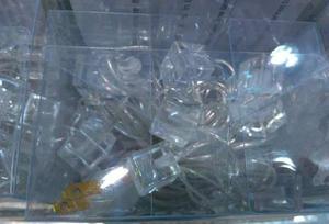 Luces De Navidad Tipo Cubo O Cuadrados De 35 Bombillos 310cm