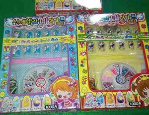 Set Kit De Uñas Postizas Para Niñas (crea Tu Estilo)