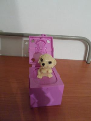 Barbie Accesorio Coleccionable Perrito Caja De Regalo.