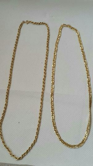 Cadenas Oro 18klt ley 750 Italiano