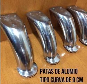 Patas De 9 Cm Para Muebles De Aluminio Tipo Curva Fabricante