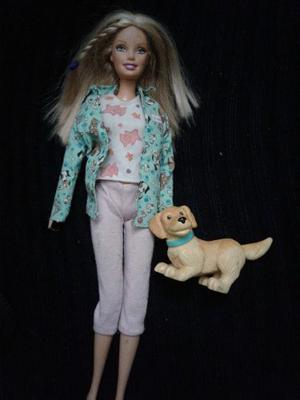 Vendo Muñeca Barbie Veterinaria