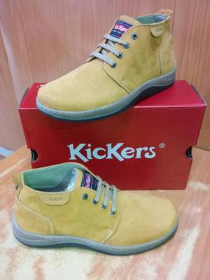 Botas De Caballeros Kickers Originales 100% Cuero