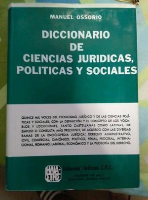 Diccionario de Ciencias Juridicas