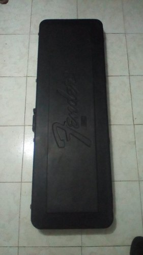 Hard Case Para Bajo (marca Fender Usa)