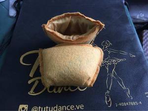 Plumillas De Goma Espuma Para Zapatillas De Punta De Ballet