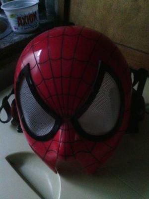 mascara del hombre araña