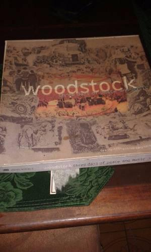 Album De Coleccion Original Imp Woodstock 4cd Mas Infografia