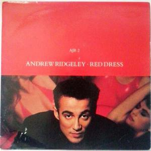 Disco 45 Rpm Andrew Ridgeley - Red Dress - Vinil Rojo
