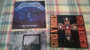 Disco Lp Vinilo Guns N Roses Metallica Led Zeppelin