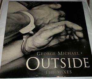 Disco Vinyl: Importado - George Michael Outside - The Mixes