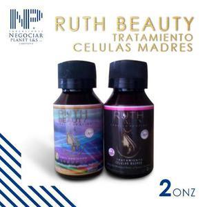 Kit De Belleza Capilar Celulas Madres Ruth Beauty 2oz