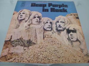 Lp / Deep Purple / In Rock / Nacional / Vinyl / Acetato /
