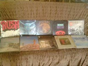Rush Coleccion Completa En Vinil Lp Rock Progresivo