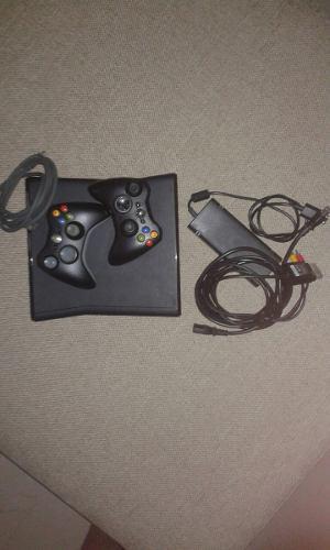 Xbox 360 Slim + 2 Controles + Cable Hdmi + Kinect + Juegos