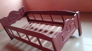 Cama cuna ismo carpinteria cama individual posot class for Vendo cama individual
