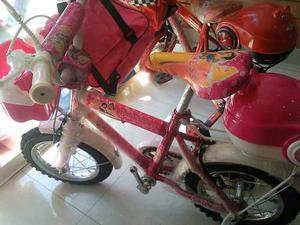 Bicicleta Rin 12 Niños Niñas Totalmente Nueva